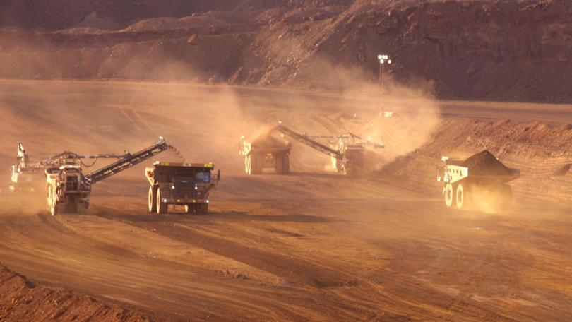 Dusty mine